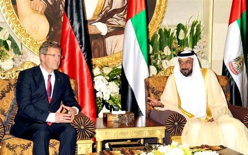 President Khalifa & German President
