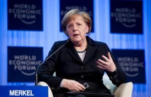 Merkel at World Economic Forum 2012
