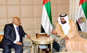 Shaikh Khalifa talks to Yemen's PM