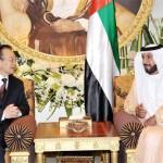 Shaikh Khalifa with Chinese Premier Wen Jiabao