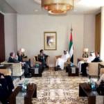 Sheikh Abdullah receives U. S. Congress Delegation & Int'l Quartet Envoy