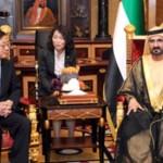 Sheikh Mohammed receives Korean Prime Minister