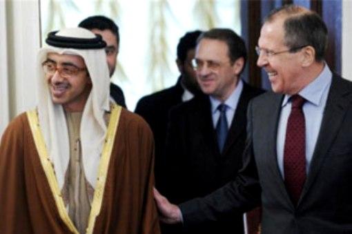Abdullah bin Zayed meets Russian FM