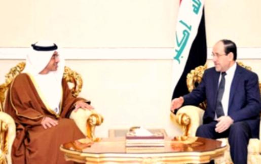 Iraqi PM receives Sheikh Abdullah
