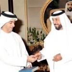 President Khalifa receives new e-passport