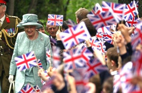 Queen Elizabeth II celebrates 60 years on throne