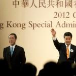 Leung wins Hong Kong election