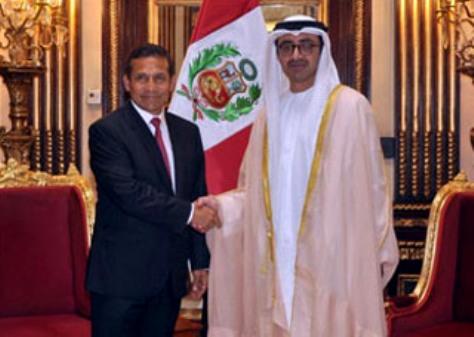 Peruvian President receives UAE's FM