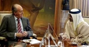 Sheikh Abdullah meets King of Spain