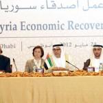 UAE-Germany to fund Syrian economic revival