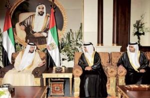 Sheikh Khalifa receives new Ambassadors