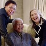 Clinton meets Mandela in rare visit at his home