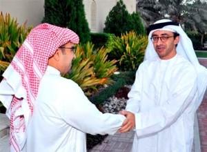 King of Bahrain receives Sheikh Abdullah
