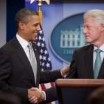 Bill Clinton supports Obama's Presidential Bid