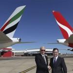 Emirates Ink Partnership with Qantas Airways