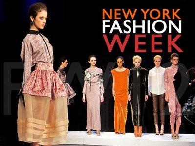 New York fashion Week Begins with a Bang