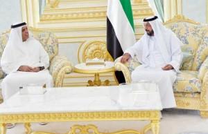 President Khalifa receives RAK Ruler