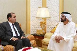 Sheikh Mohammed receives Egypt's Information Minister