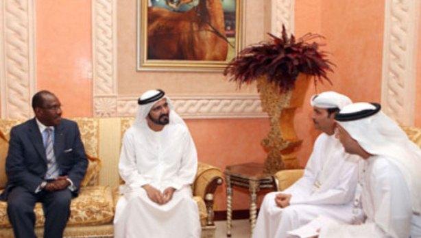 Sheikh Mohammed Meets ITU Telecom World Participants