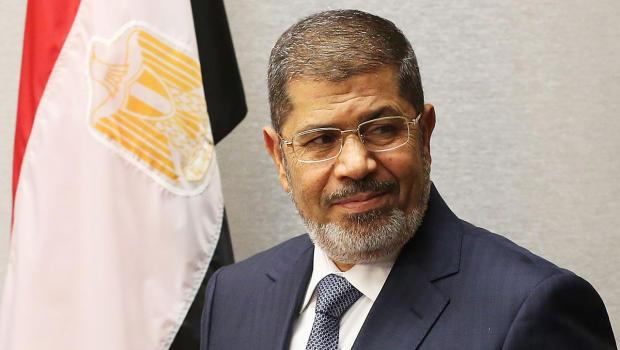 Egyptian President Mursi Meets Top Judges
