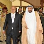President Khalifa Holds Talks With Yemeni President