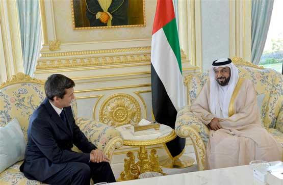 President Receives Turkmen Deputy PM