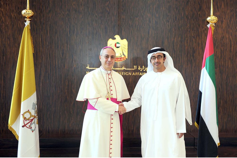 Sheikh Abdullah Meets His Vatican Counterpart