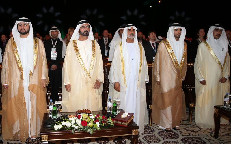 Sheikh Mohammed Opens Global Entrepreneurial Summit