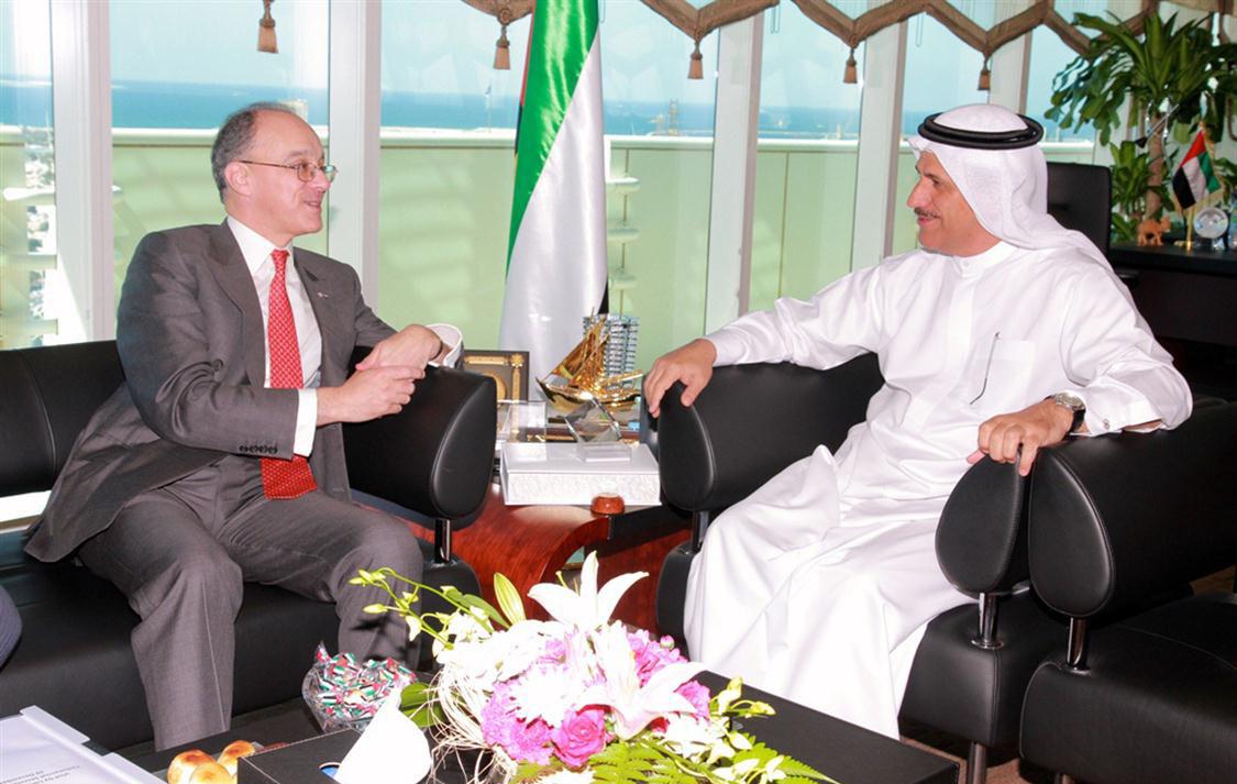 UAE-UK Discuss Ways to Boost Economic Ties
