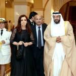Sheikh Khalifa Holds Talks with Argentine President