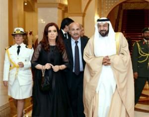 Khalifa Bin Zayed Al Nahyan House Sheikh Khalifa Holds Talks