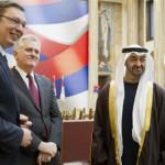 Sheikh Mohammed bin Zayed Meets Serbian President