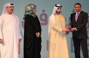 Ashfaq Ahmed wins DSF Award