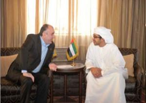Sheikh Abdullah & Azerbaijan FM Discuss Relations
