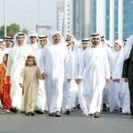 Emiratis Celebrate Qasr Al Hosn Festival