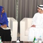 Sheikh Abdullah Receives Somalia's FM