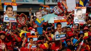 Venezuelans Vote for President