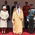 President Khalifa Meets Queen Elizabeth II