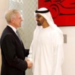 Sheikh Mohamed bin Zayed Meets U.S Navy Secretary