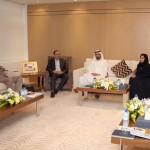 Sheikh Mohammed Meet Members of Int'l Media Organizations
