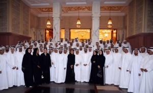 Sheikh Mohammed Receives UAE Envoys