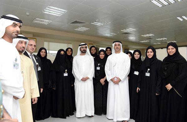Sheikh Mohammed tours GDRFA