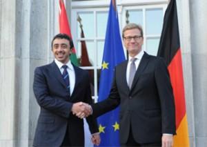German FM Hosts Iftar Dinner for Sheikh Abdullah