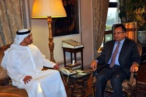 Sheikh Abdullah Meets Egyptian FM