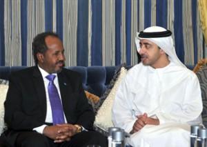 Sheikh Abdullah Meets Somali President