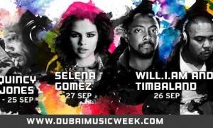 Int'l Stars Rock Dubai Music Week