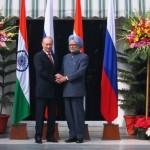 Indian PM Meets Putin