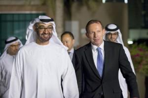 Sheikh Mohammed bin Zayed Meets Australian PM