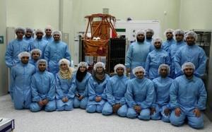 DubaiSat 2 in Russia for Launch