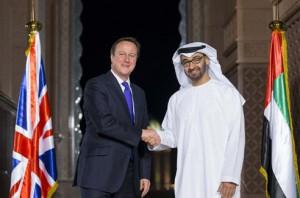 Gen. Sheikh Mohammed Meets Cameron